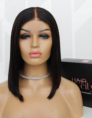 Brazilian T Part Lace Wig - Kimmie 12""