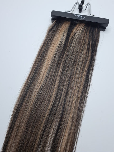 "Clip In Extensions 18"" - Mocha Balayage"