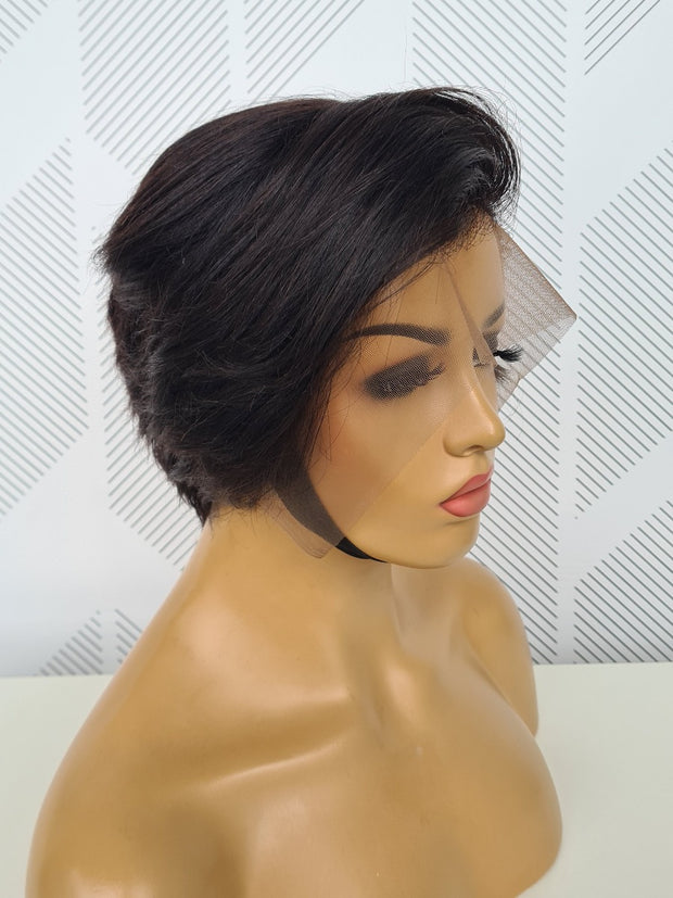 Brazilian Lace Frontal - Pixie style - 10""