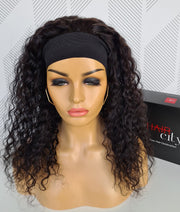 Brazilian Water Wave Headband Wig - 20""