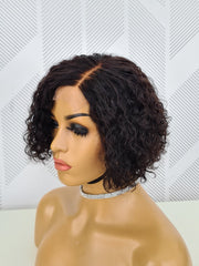 Brazilian T-part Wig - Lauren Bob 8''