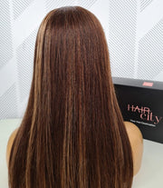 Brazilian T-Part Lace Wig - Balayage - 18""