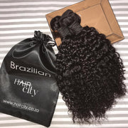 Malaysian Curly Weave - 3 Bundles + Closure
