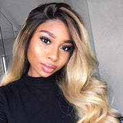 OUTRE HUMAN HAIR BLEND 13X4 LACE FRONTAL WIG DASHA