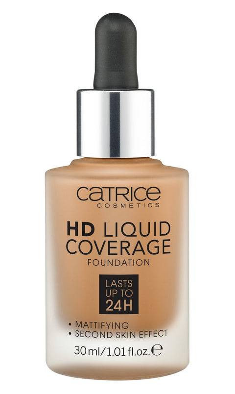 Catrice HD Liquid Coverage Foundation 070 - Toffee Beige