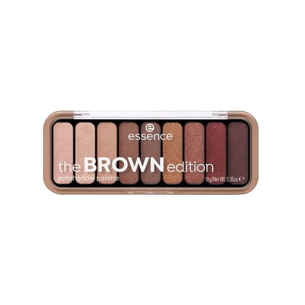 essence the BROWN edition eyeshadow palette 30