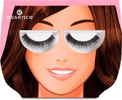 essence fancy lashes, eyelash glue 01