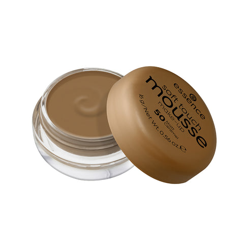 essence Soft Touch Mousse Make-Up 50-Matt Caramel