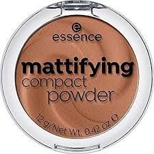 essence mattifying compact powder 50-true caramel