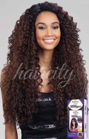 FREETRESS EQUAL LACE FRONT DEEP INVISIBLE L PART WIG KITRON