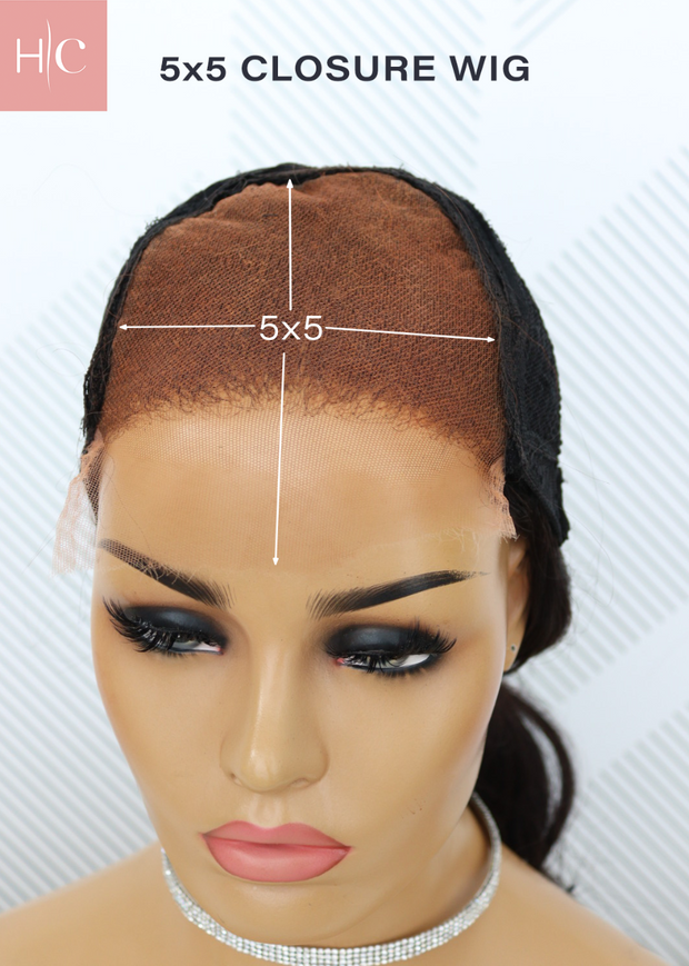 Brazilian HD 5x5 Lace Wig Straight