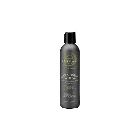 DESIGN ESSENTIALS NAT ALMOND & AVO LEAVE IN CONDITIONER