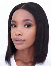Brazilian BLUSH 10A Bob Lace Wig - 12""