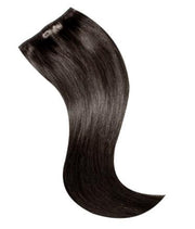 "BRAZILIAN  CLIP IN EXTENSIONS 18"" - 2 - DARK BROWN"