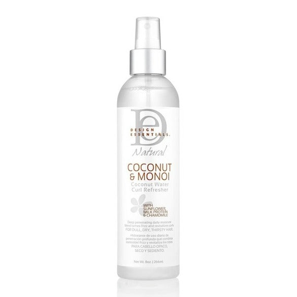 DESIGN ESSENTIALS COCONUT AND MONOI COCONUT WATER CURL REFRESHER 250ML