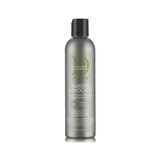 DESIGN ESSENTIALS NAT ALMOND & AVO DETANGLING LEAVE IN CONDITIONER