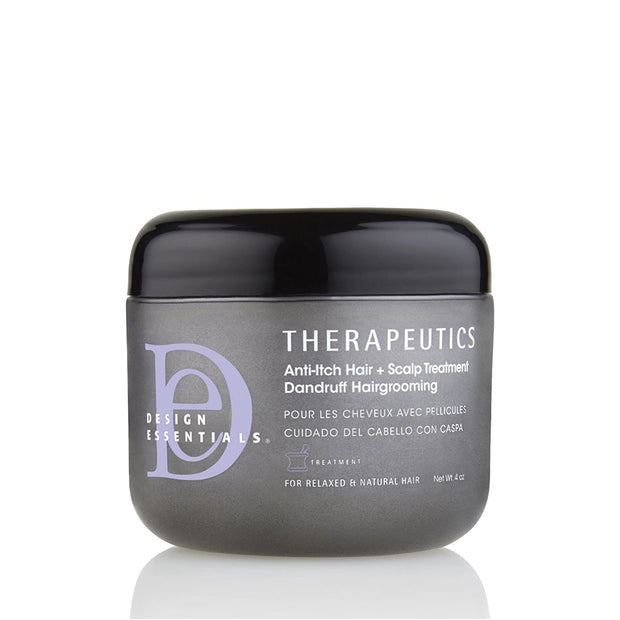 DESIGN ESSENTIALS THERAPEUTICS ANTI ITCH HAIR SCALP TREATMENT 4 oz
