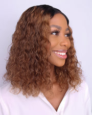 Brazilian T Part Lace Wig - Swifty Bob 1B-30