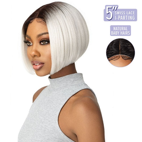 Outre L-Part Swiss Lace Front Wig - Haven