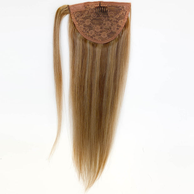 Chestnut Balayage Clip In Ponytail - 46cm
