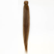Ash Brown Clip In Ponytail - 46cm