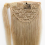 Light Blonde Clip In Ponytail - 46cm