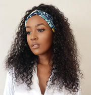 Brazilian Water Wave Band Wig - 20""
