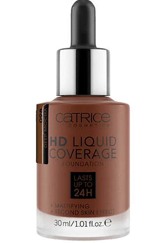 Catrice HD Liquid Coverage Foundation 098 - Deep Mocha