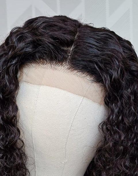 Brazilian 4x4 Lace Wig - Water Wave 18""