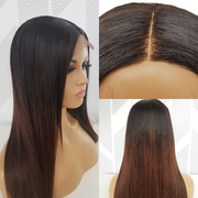 Brazilian 4x4 Lace Wig  Straight - 1B Wine - 18""
