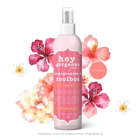 Hey Gorgeous Pomegranate & Rooibos Toner 250ml