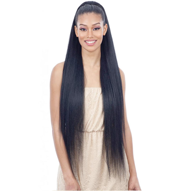 Freetress Drawstring Ponytail - Long Straight Yaky 38""