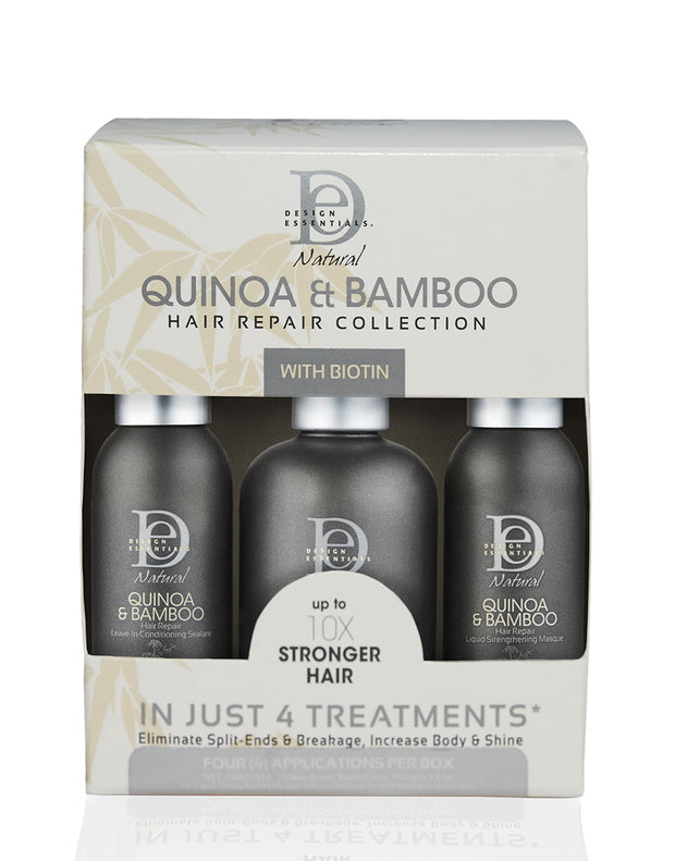 DESIGN ESSENTIALS QUINOA BAMBOO HAIR REPAIR COLLECTION