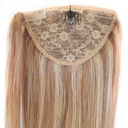 STREAKED BLONDE CLIP IN PONYTAIL 46cm
