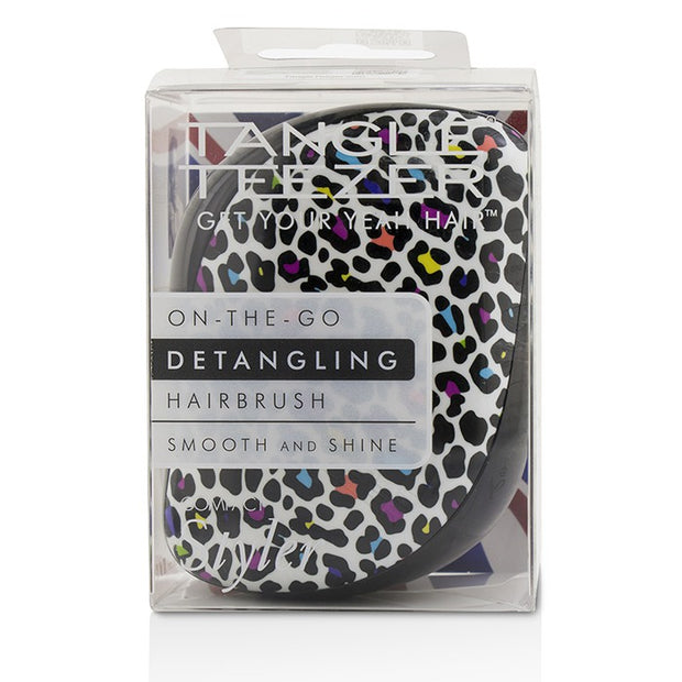 Tangle Teezer Compact Styler Brush -  Multi Coloured Leopard Print