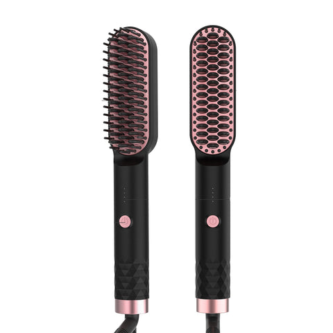 Mini Hot Straightener Brush