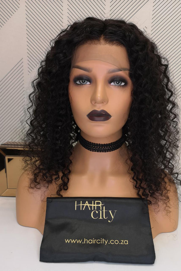 BRAZILIAN LACE FRONT WIG - DEEP WAVE