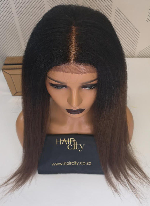 "Freetress 100% Hand-Tied 13"" x 4"" Frontal Lace Wig 003"