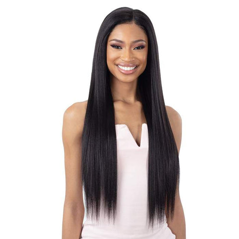 "Organique Lace front wig Yaky Straight - 30"" - 2"