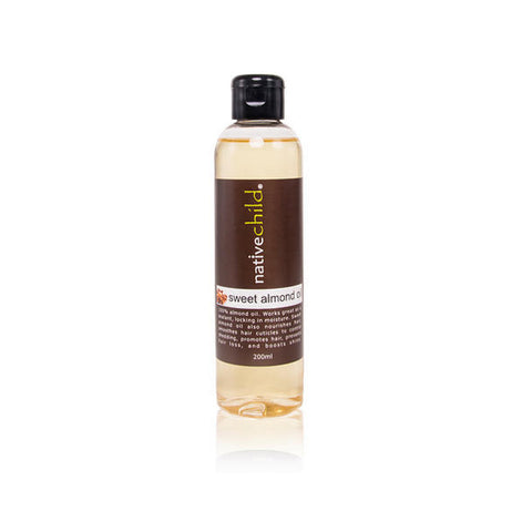 Native Child Sweet almond oil 200ml