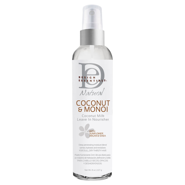 DESIGN ESSENTIALS COCONUT AND MONOI MILK LEAVE IN NOURISHER