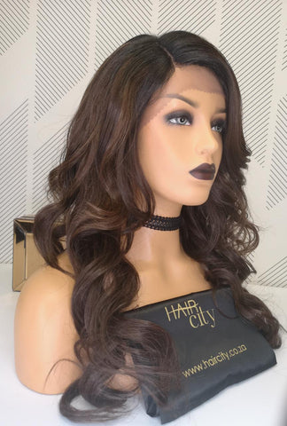 FREETRESS EQUAL DEEP INVISIBLE L PART LACE FRONT WIG DANITY