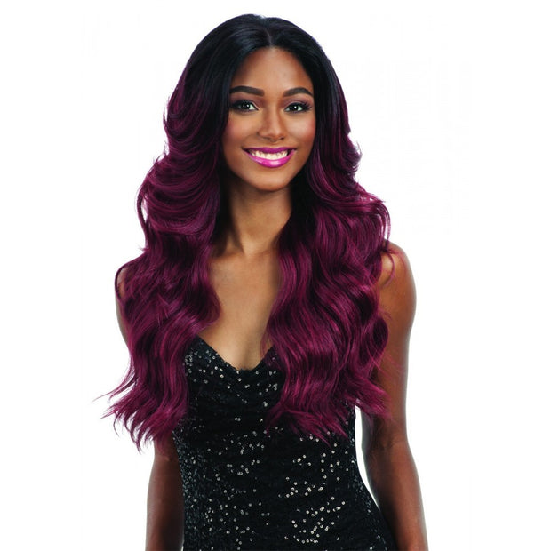 "Freetress 100% Hand-Tied 13"" x 4"" Frontal Lace Wig 001"