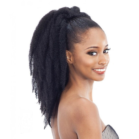 Freetress Equal Drawstring Ponytail ? Cuban Girl 16""