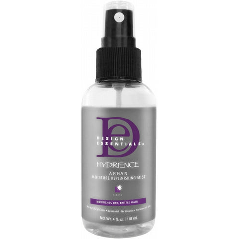 DESIGN ESSENTIALS HYDRIANCE MOIST ARGAN REPLENISHING MIST 125ML