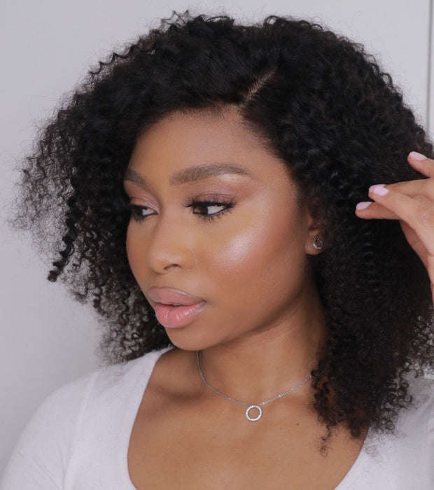 BRAZILIAN LACE FRONT WIG KINKY CURL