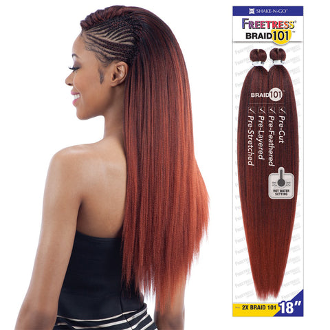 FREETRESS BRAID 2X BRAID 101 18""