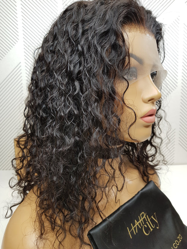 Malaysian Curl Lace Front Wig