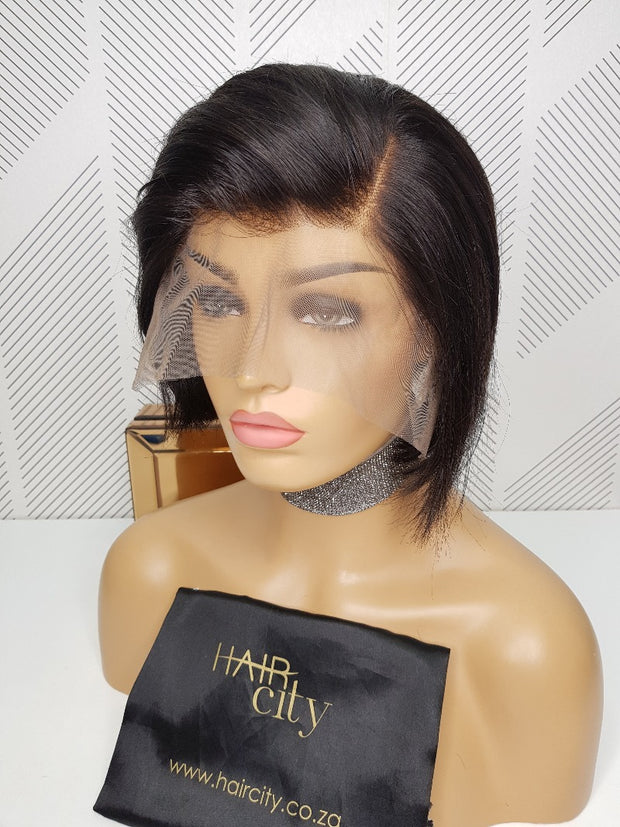 "Brazilian Lace Wig Pixie Bella 8"" - Natural"