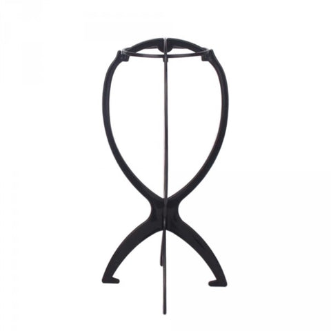 WIG STAND BLACK